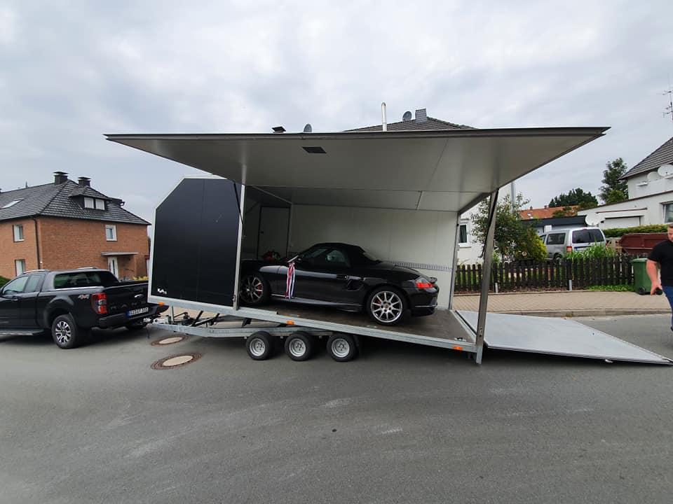 Porsche Boxster S - MTM Autotrailer
